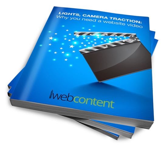 Lights, Camera, Traction:  Why you need a website video