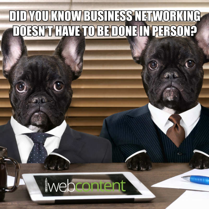 Business Networking Meme